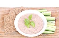 Vegetarisches gesundes Mittagessen Stockbild