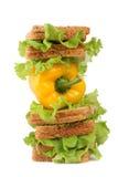 Vegetarisches helles Frühstück Lizenzfreie Stockbilder