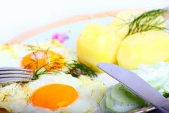 Vegetarisches Mittagessen Stockfotos