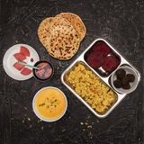 Vegetarisches Nahrungsmittelset Stockfoto