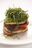 Vegetarisches Sandwich Stockfoto