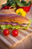 Vegetarisches Sandwich Stockbilder