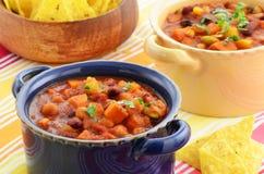 Vegetarisk chili Royaltyfri Foto