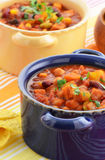 Vegetarisk chili Royaltyfria Foton