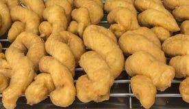 Vegetarisk kines Fried Dough Arkivbilder