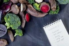 Vegetarisk matlagning Royaltyfria Bilder
