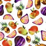Vegetarisk modell med frukter och gr?nsaker arkivfoto