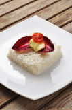 Vegetarisk ricecake Royaltyfria Bilder