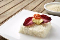 Vegetarisk ricecake Royaltyfri Bild