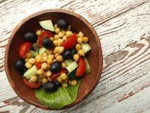 Vegetarisk sallad Arkivfoto