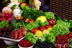Vegetarisk stilleben Royaltyfri Bild