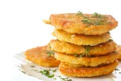 Vegetarisk sund maträtt Arkivbild