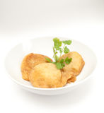 Vegetarisk sund maträtt Fotografering för Bildbyråer
