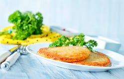 Vegetarisk sund maträtt arkivfoto
