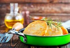 Vegetarisk sund maträtt arkivbilder