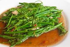 Vegetarisk thailändsk mat. Arkivfoton