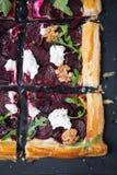 Vegetariskt syrligt recept arkivfoto