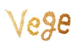 Vegetarismus stockbilder