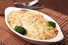 Vegetatarian Lasagne Stockfoto