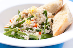 Vegetatian risotto Stock Image