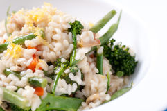Vegetatian risotto Royalty Free Stock Image