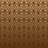 Vegetatief naadloos patroon Royalty-vrije Stock Afbeelding