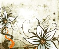 Vegetatieve achtergrond Royalty-vrije Stock Fotografie