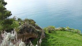 Vegetation, Coast, Nature Reserve, Cliff royalty free stock photo