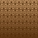 Vegetative seamless pattern. Vector vegetative seamless pattern in warm colours Royalty Free Stock Image