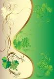 Vegetativer Hintergrund für den Text Lizenzfreies Stockbild