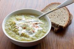 Vegetavle soup Royalty Free Stock Photography