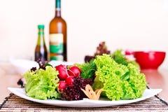 vegeterian的午餐 免版税库存图片