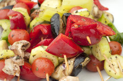Vegeterian Barbecue Royalty Free Stock Images