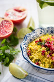 Vegeterian dish, couscous salad Royalty Free Stock Image