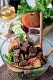 Vegeterian Salat Stockfoto