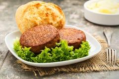 Veggie-бургер Стоковое фото RF
