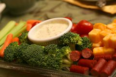 Veggie Appetizer Dish Stock Images