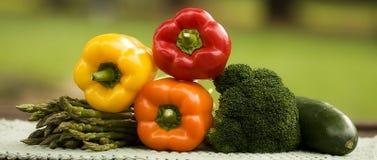 Veggie Arrangement Stock Photo