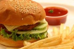 Veggie burger Royalty Free Stock Image