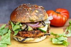 Veggie burger Stock Photos