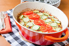Veggie casserole dish Stock Photos
