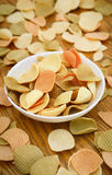Veggie chips on a white plate Royalty Free Stock Photo