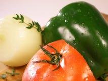 Veggie close up Stock Images