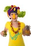 Veggie Clown Stock Image