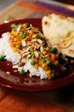 Veggie-Curry Stockbild