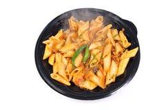 Veggie deegwaren Stock Foto's