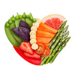Veggie et fruité Image stock