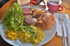 Veggie-Frühstück lizenzfreie stockbilder