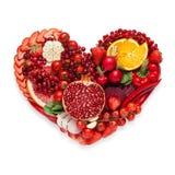Veggie heart. Stock Photo