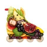 Veggie inline roller. Stock Image